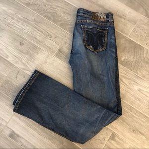 MEK Boot Cut Jeans